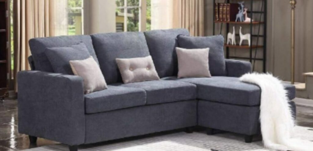 HONBAY L Shaped Sectional Couch