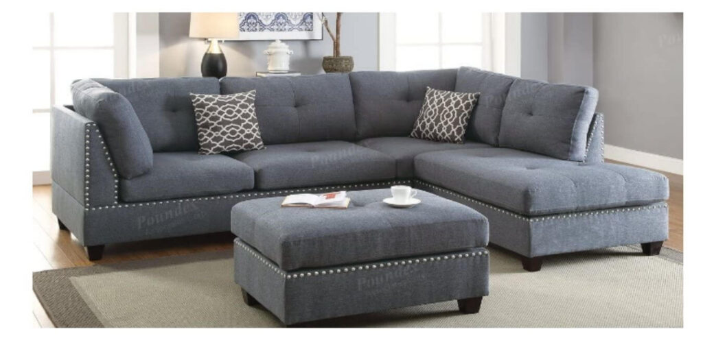 Poundex Sectional Sofas/ Sectionals
